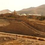 Неби Муса на фоне Иудейской пустыни