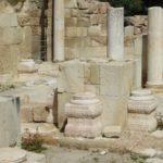 Бейт Гуврин - раскопки церкви крестоносцев и мечети