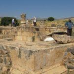 Хурват Омрит - раскопки храма Ирода в честь императора Августа на севере Израиля