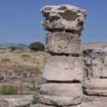 Хурват Омрит - руины римского храма императору Августу на севере Израиля