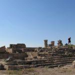 Хурват Омрит - руины римского классического храма на севере Израиля
