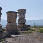 Хурват Омрит - руины колонн