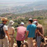 Вид с Мухраки, с вершины горы Кармель