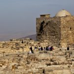 Раскопки самаритянского храма на горе Гризим