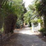 Двор дома художника Хольман Ханта на улице Пророков в Иерусалиме