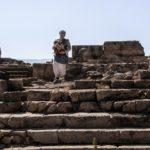 Хурват Омрит - руины классического храма у подножия Хермона и Голан