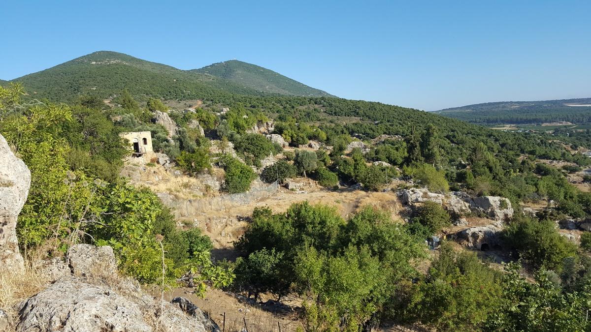 Гора Мирон, Верхняя Галилея, север Израиля