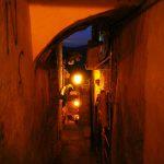 Старый Цфат ночью