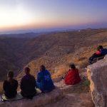 Встреча восхода в Ткоа на краю Иудейской пустыни