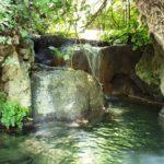 Водные бассейны и небольшие водопады в ущелье Мирон - Амуд под Цфатом