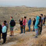 Встреча восхода над ущельем Ткоа