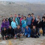Конец путешествия - над ущельем Ткоа и пещерой Харитун