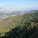 Вид с вершины горы Мирон
