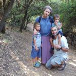 Семейное путешествие на горе Мирон, север Израиля