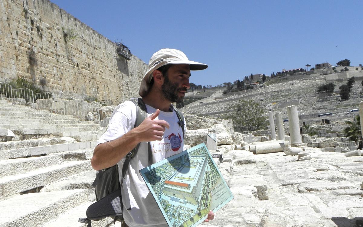 Экскурсия у подножия Храмовой горы