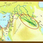 Израиль на карте древнего мира