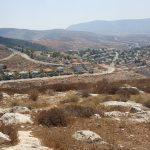 Вид на поселение Элон Море и гору Итамара с горы Кабир