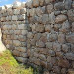 Основание дворца царей Иудеи, кладка времен Первого храма