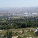 Долина Аялон и горы Иудеи в сторону Иерусалима