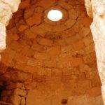 Куполный потолок в бане Ирода в Иродионе