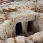 Древняя миква в Хурват Экед, еврейском Эммаусе, в парке Аялон