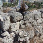Камни стен города времен Первого храма, 9-8 в. до н.э.