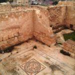Нижний Иродион - мазаичные ковры в бане