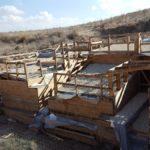 Лахиш - внутренние ворота, новые раскопки