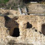 Разрез миквы периода Второго храма, раскопки над перекрестком Эла