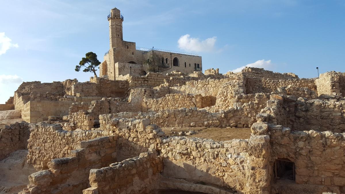Неби-Самуэль - традиционная могила пророка Шмуэля возле Иерусалима