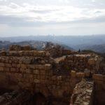 Неби-Самуэль - вид на юг в сторону Иерусалима