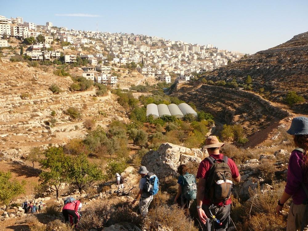 крутые склоны Иудейских гор
