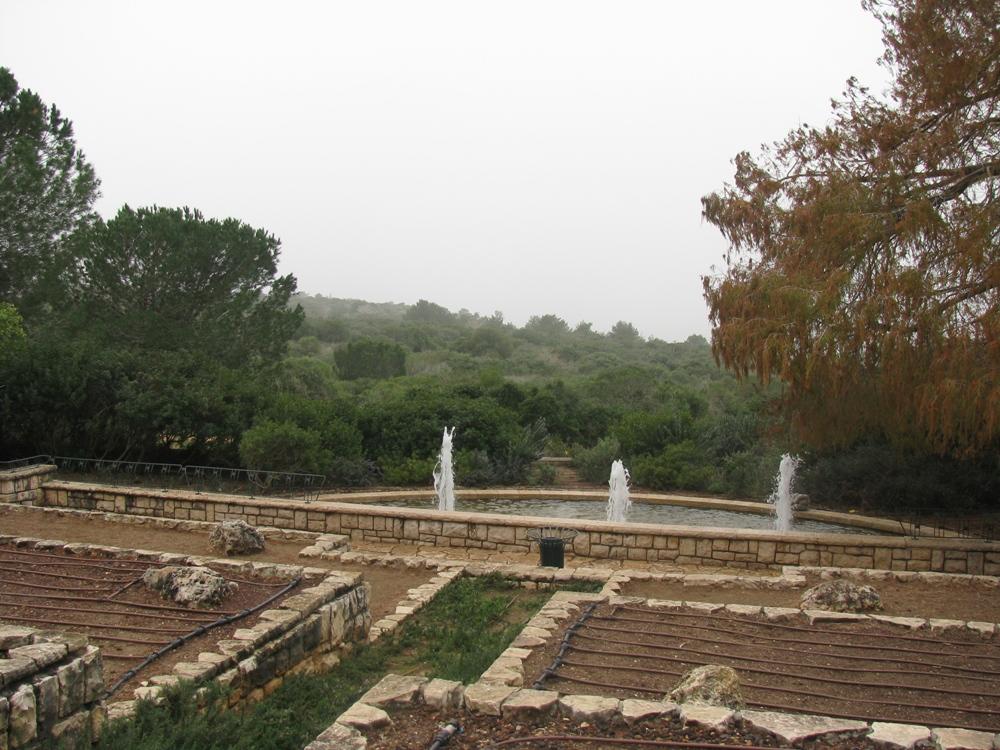Сады Ротшильда на горе Кармель
