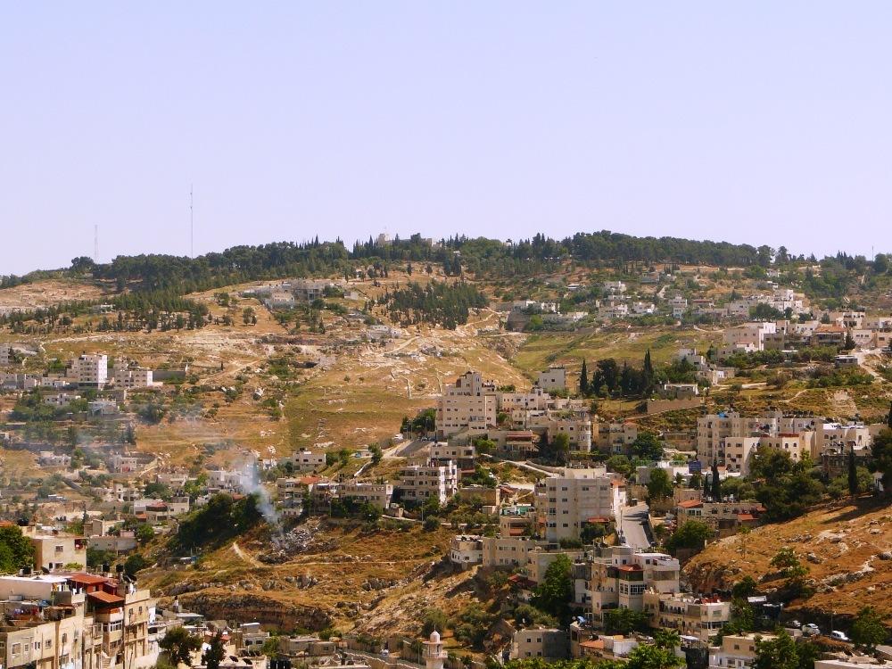 Армон а-Нацив к югу от Города Давида