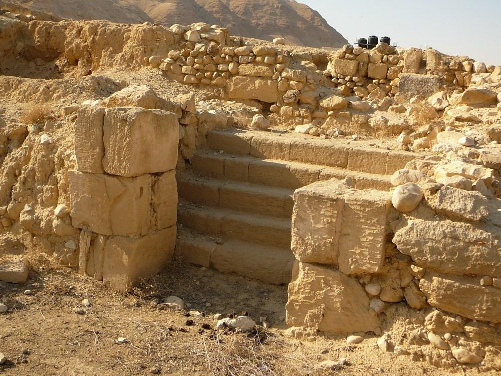 Только небольшая часть дворцов в Йерихо раскопана
