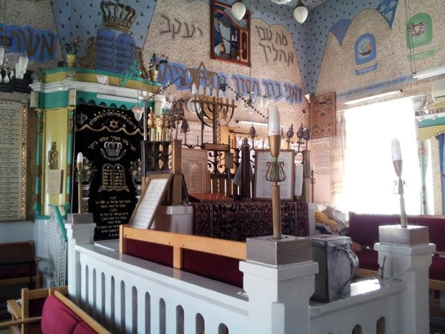 Синагога Оэль Моше в Иерусалимском квартале Нахлаот