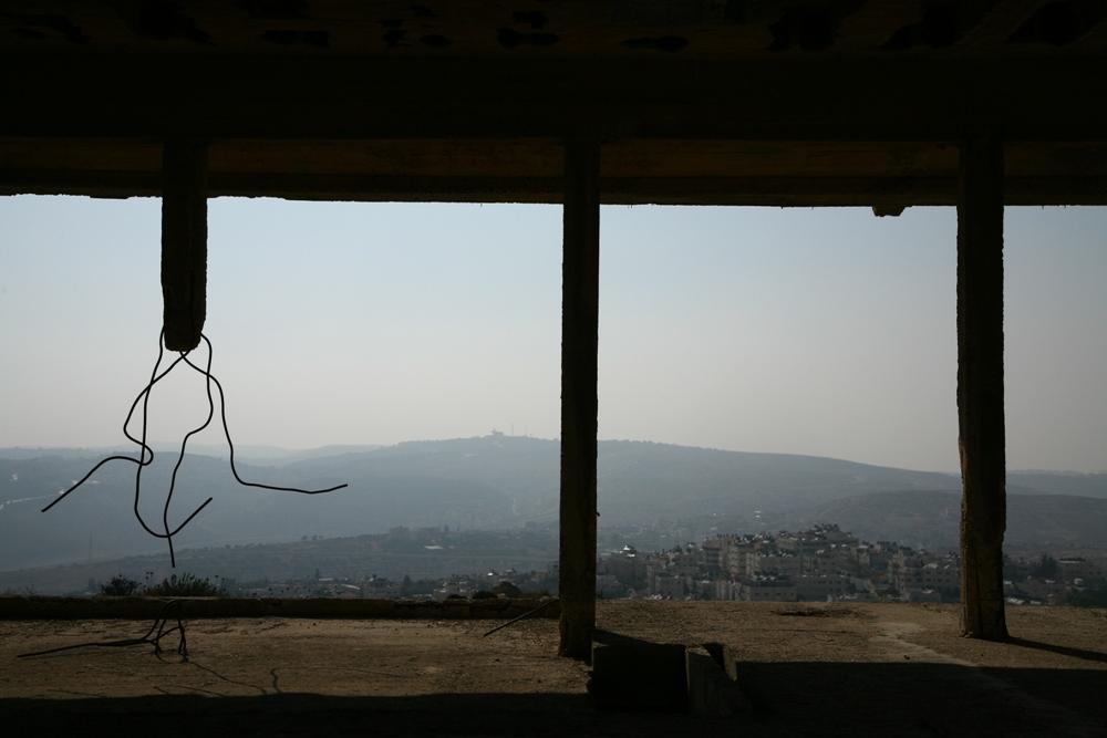Вид на горы Иерусалима из дворца Хусейна - Библейская Гиват Шауль