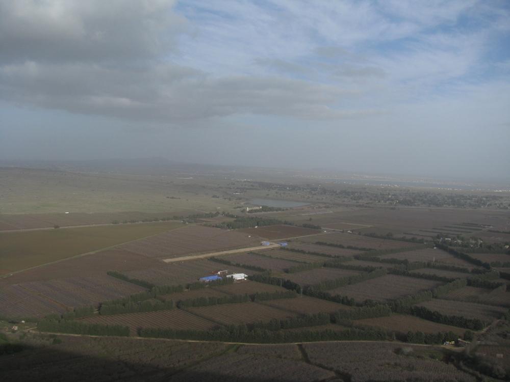 В период Танаха весь этот район назывался Башан