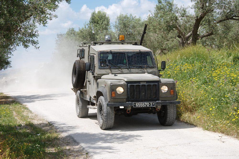 Израильские джипы в действии