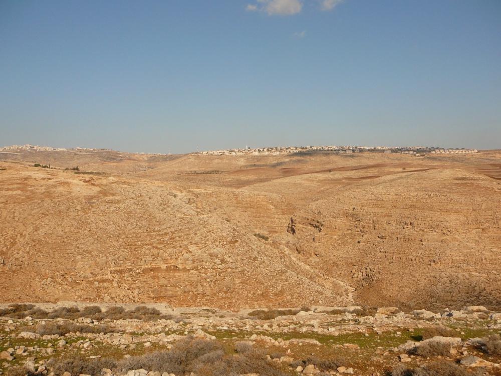 Начало Иудейской пустыни