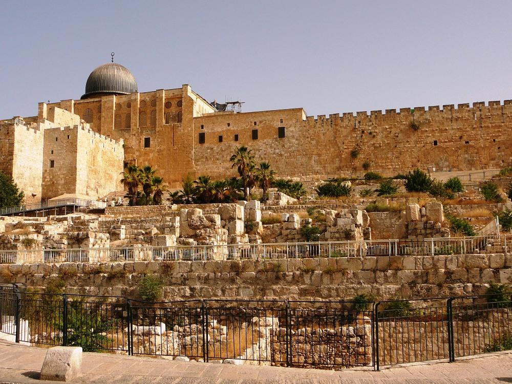 Храмовая Гора и раскопки Офеля