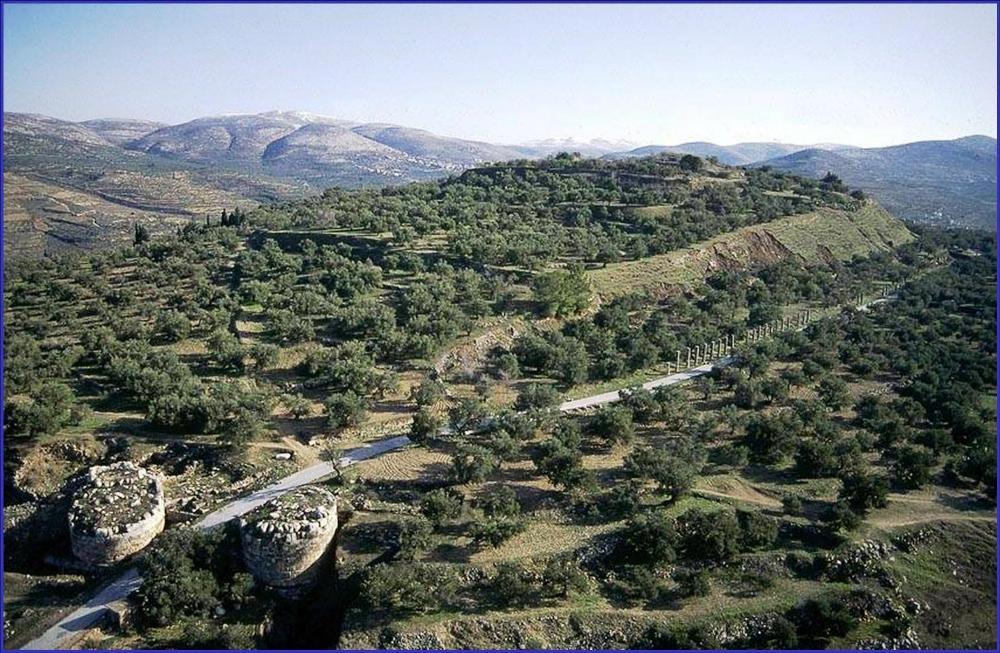 Фотография акрополя древнего Шомрона