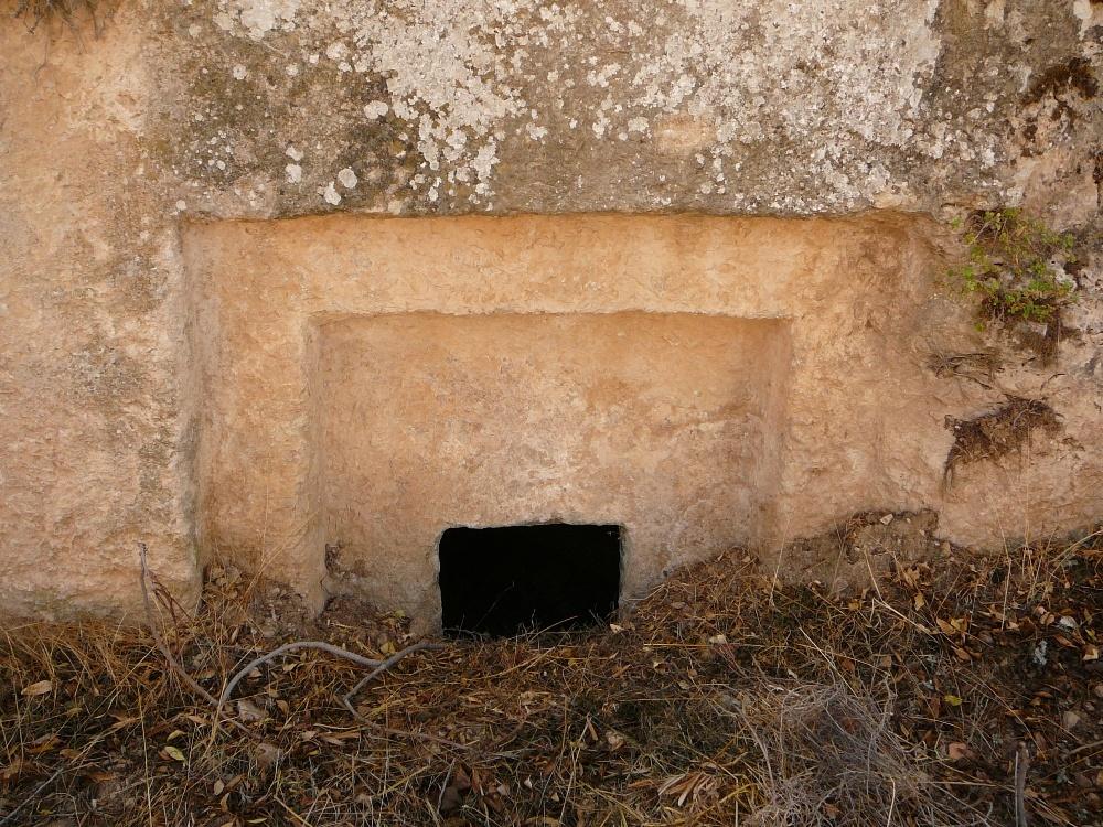 древние еврейские захоронения на холме Эйтам