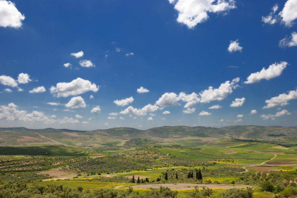Плодородные долины окружающие Шомрон