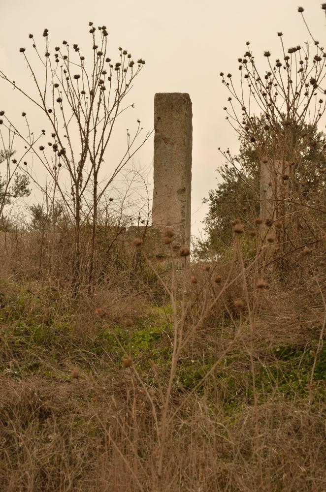 Руины синагоги в Хурват Самара