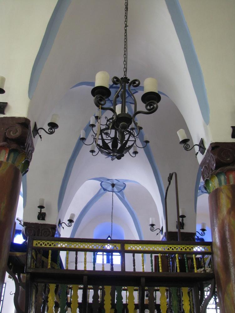 Бима синагоги а-Ари в Цфате