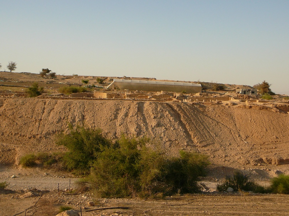 Третий дворец Ирода в Йерихо располагался на обоих берегах ущелья Прат (Кельт)
