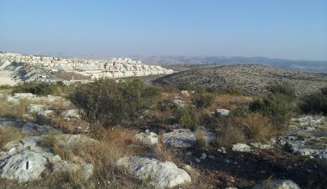 Новостройки Модиина на фоне Иерусалимских гор