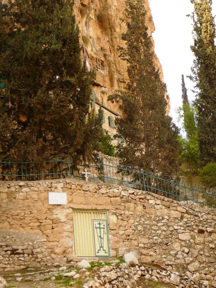 Русские монахи восстановили греческий православный монастырь