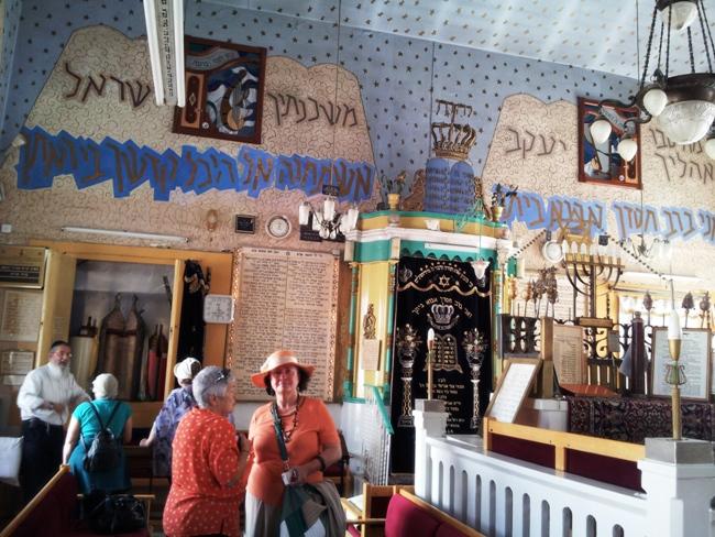 Во время экскурсии в Иерусалиме в квартале Нахлаот